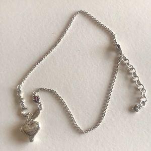 Brighton shamrock necklace